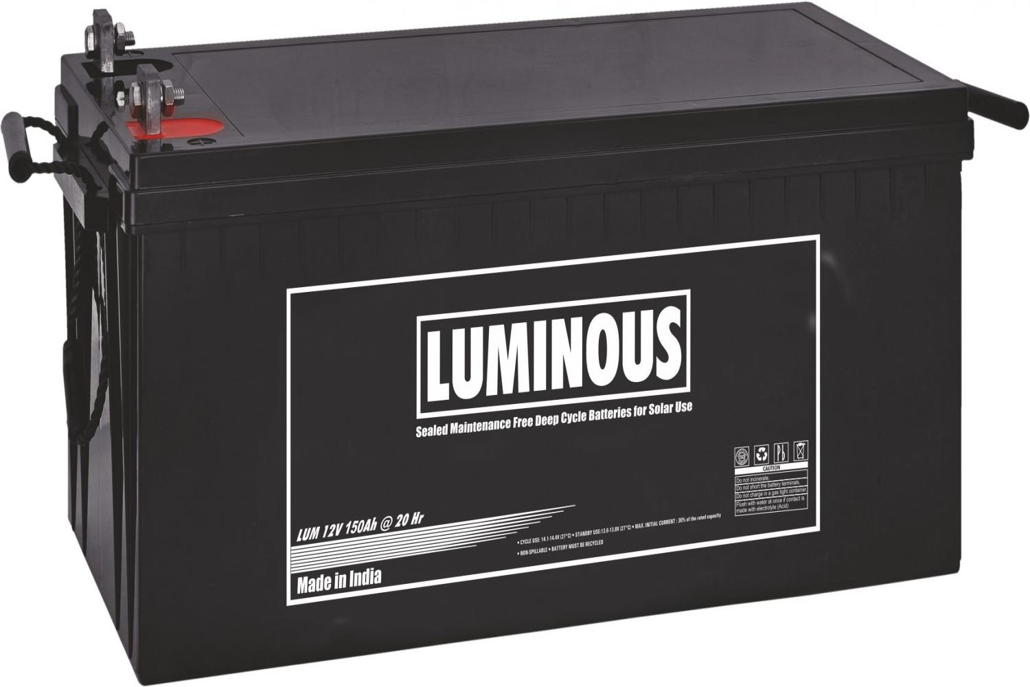 Solar Battery Luminous Solar Battery 150ah Price